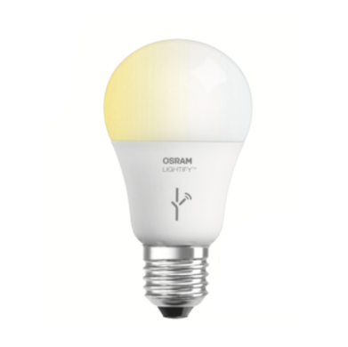 Osram Lightify LED A19 Tunable White Lamp