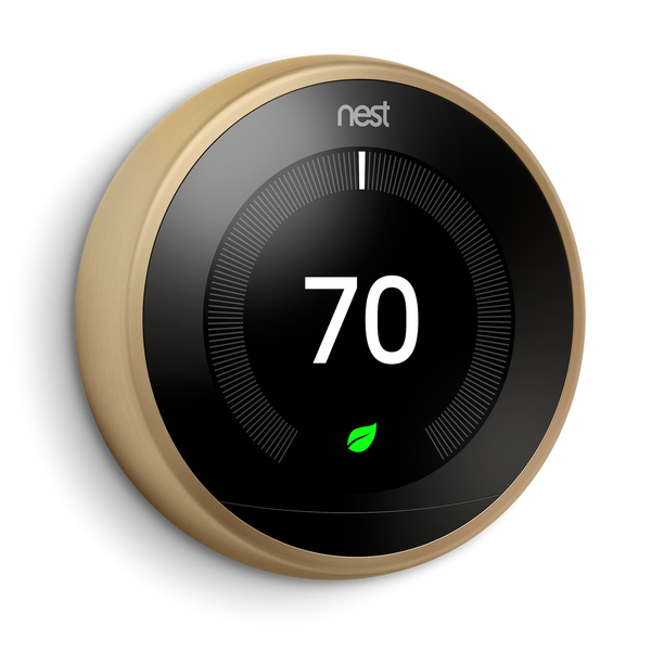 3rd Gen Nest Leaning Thermostat + Habitat For Humanity image 4674139750472