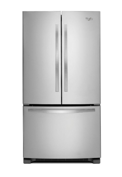 Whirlpool 25.2 cu. ft. French Door Refrigerator in Monochromatic Stainless Steel image 23148417480