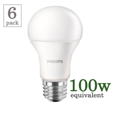 Philips 19w LED A21 (6 Pack) image 14826699460