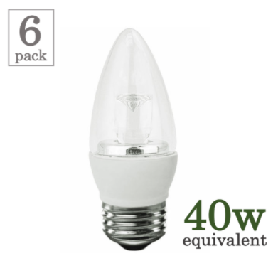 TCP 5w Medium-Based LED Torpedo (6 Pack)