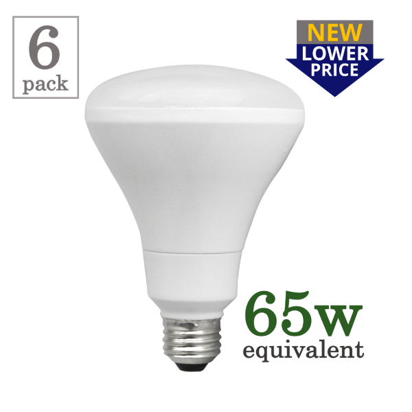 TCP Elite 10w Smooth BR30 LED (6 Pack)