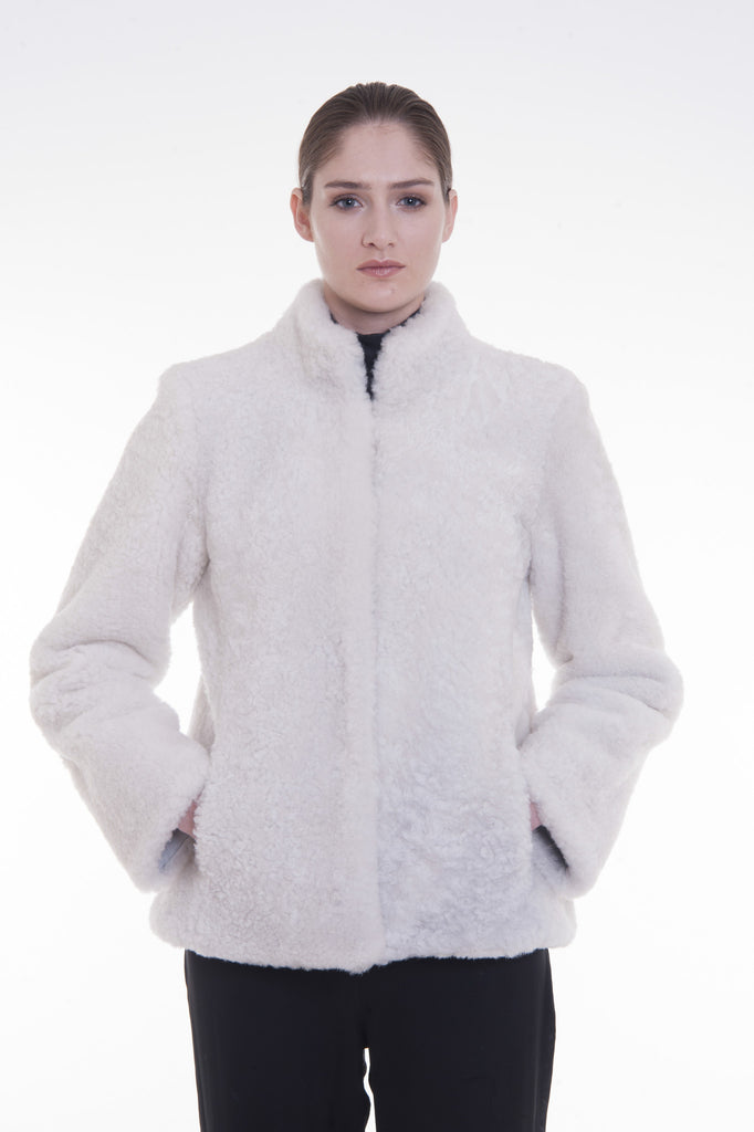 Icelandic fur - white
