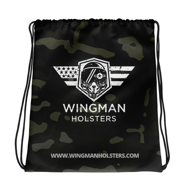 Wingman Drawstring Bag (Multicam Black)