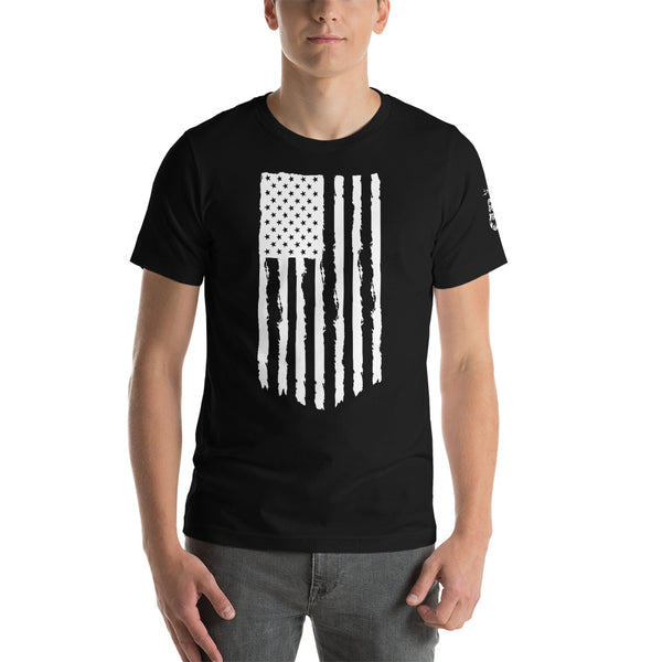 NEW!! American Flag Wingman Tee