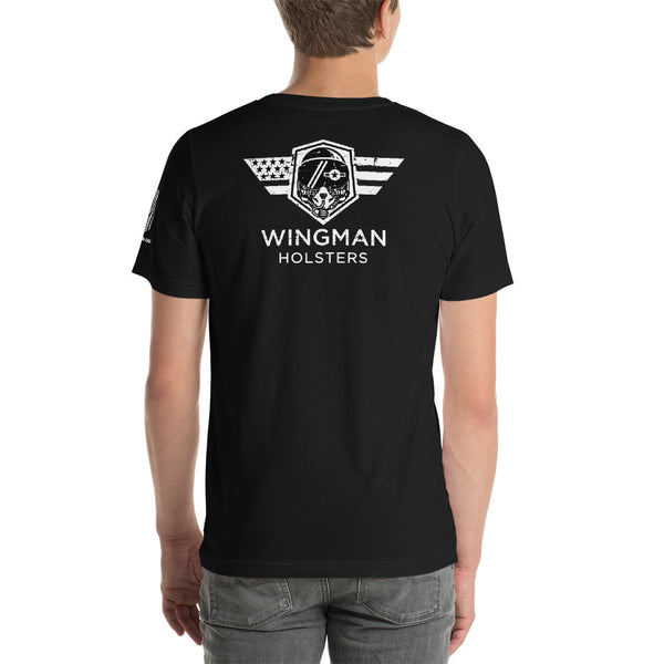 Back Wingman Logo Tee