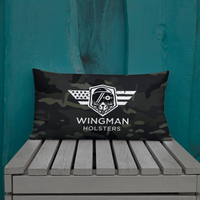 Black Multicam Wingman Premium Pillow