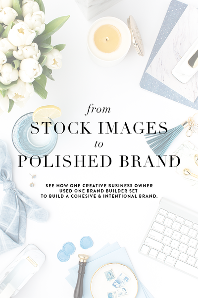 How to use our SC Stockshop image sets to build a polished brand