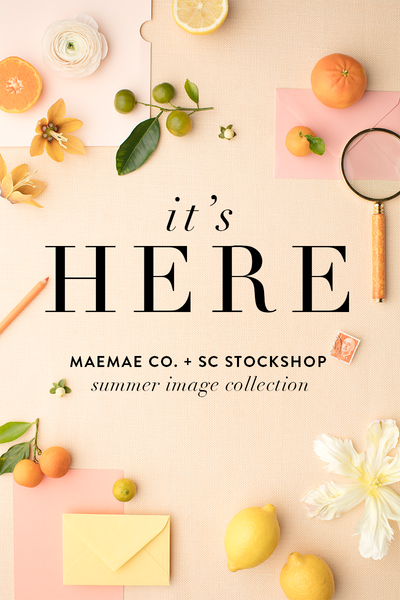 New in the shop: Summer Styled Stock Images for Stationery Designers, Artists, Calligraphers and More!