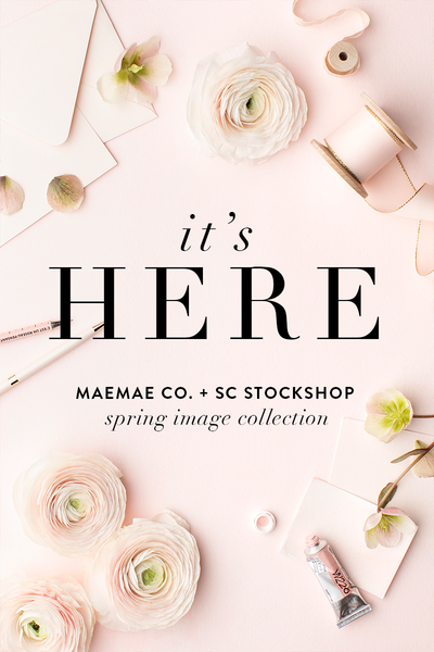 MaeMae Co. x SC Spring Styled Stock Image Collection is HERE!