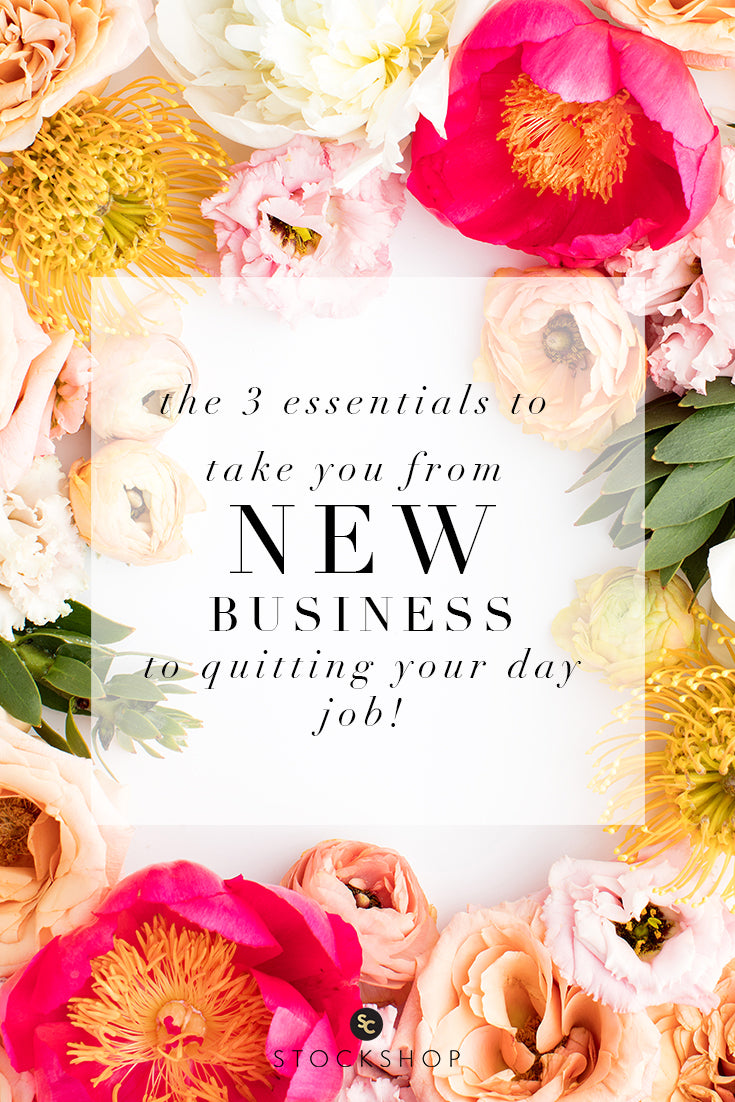 The 3 essentials to take you from new business to quitting your day job!