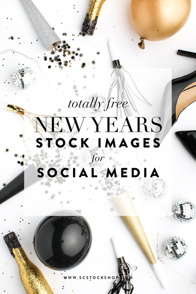 Free New Year's Themed Styled Stock Photos!