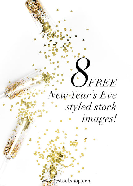Free Styled Stock Photography for a Happy New Year!