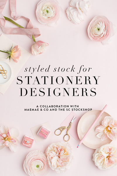 Styled Stock Photography for Stationery Designers and Calligraphers!