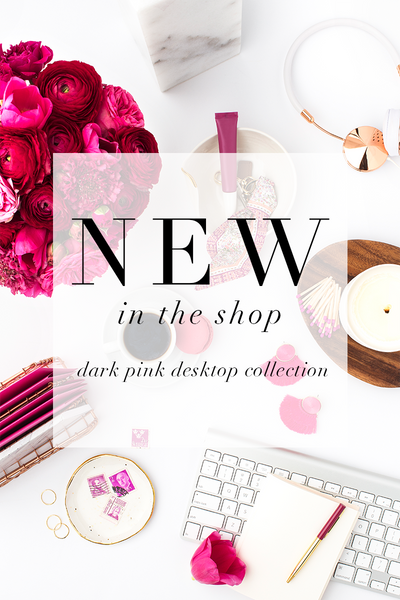 Dark Pink Styled Stock Photography from the SC Stockshop