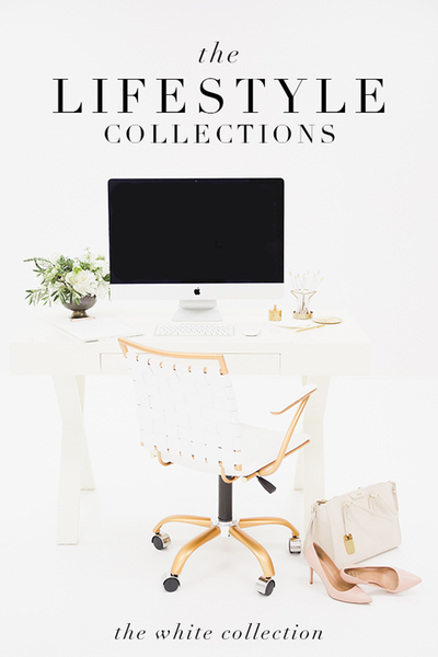 New in the shop: Lifestyle Branding Images in All White!