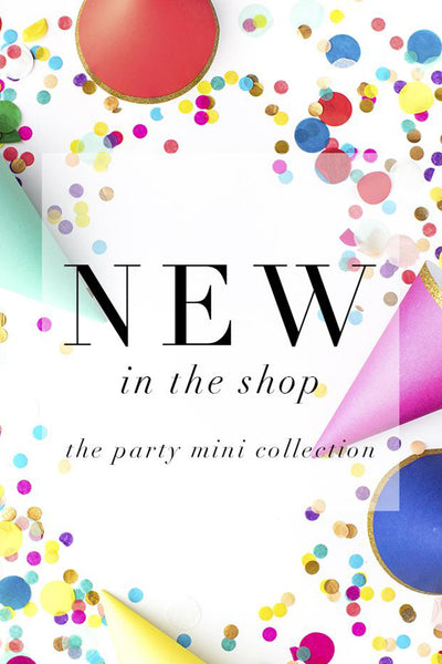 New in the Shop: Party Themed Styled Stock Images