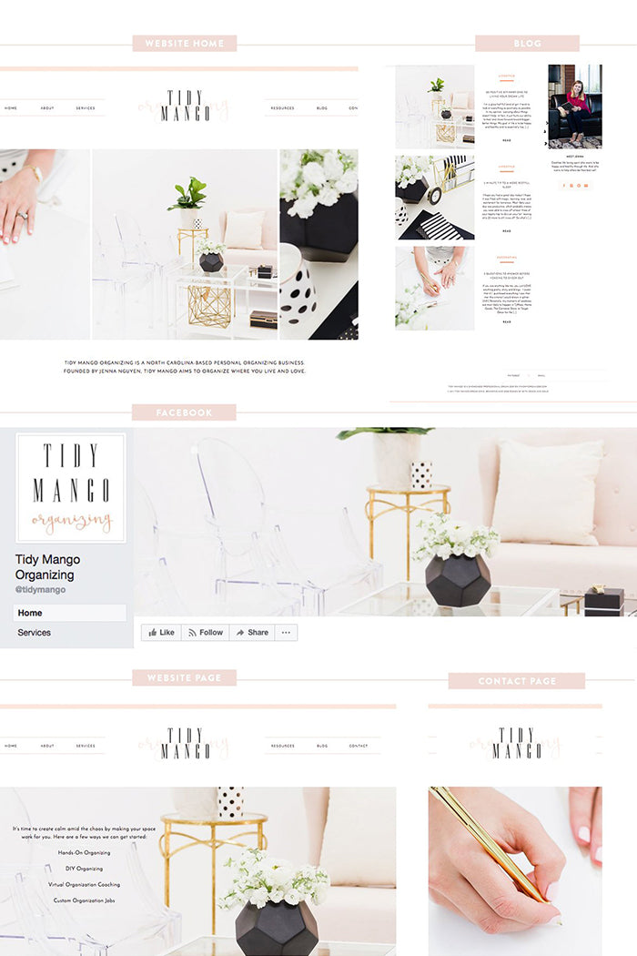 User Spotlight: How the brand Tidy Mango used SC Stockshop lifestyle stock images to build her visual brand