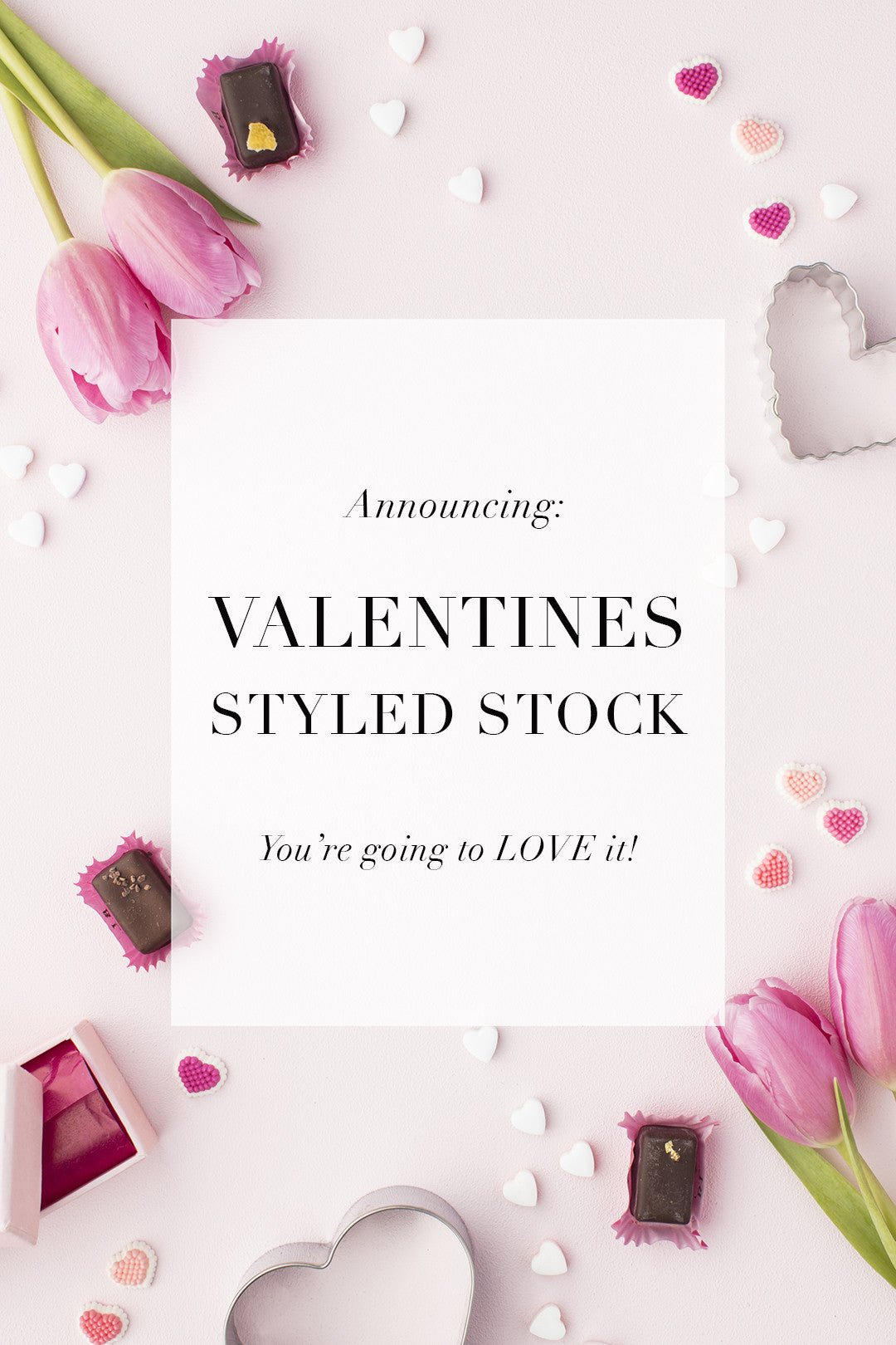 New In The Shop: Valentine's Day styled stock images to make your heart swoon!