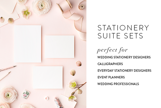 Styled stock images for stationery designers and wedding professionals