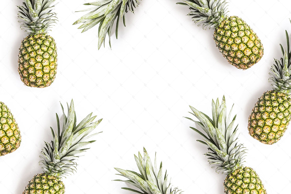 Pineapple styled stock image from the SC Stockshop