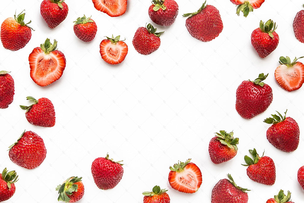 Strawberry branding image from the SC Stockshop