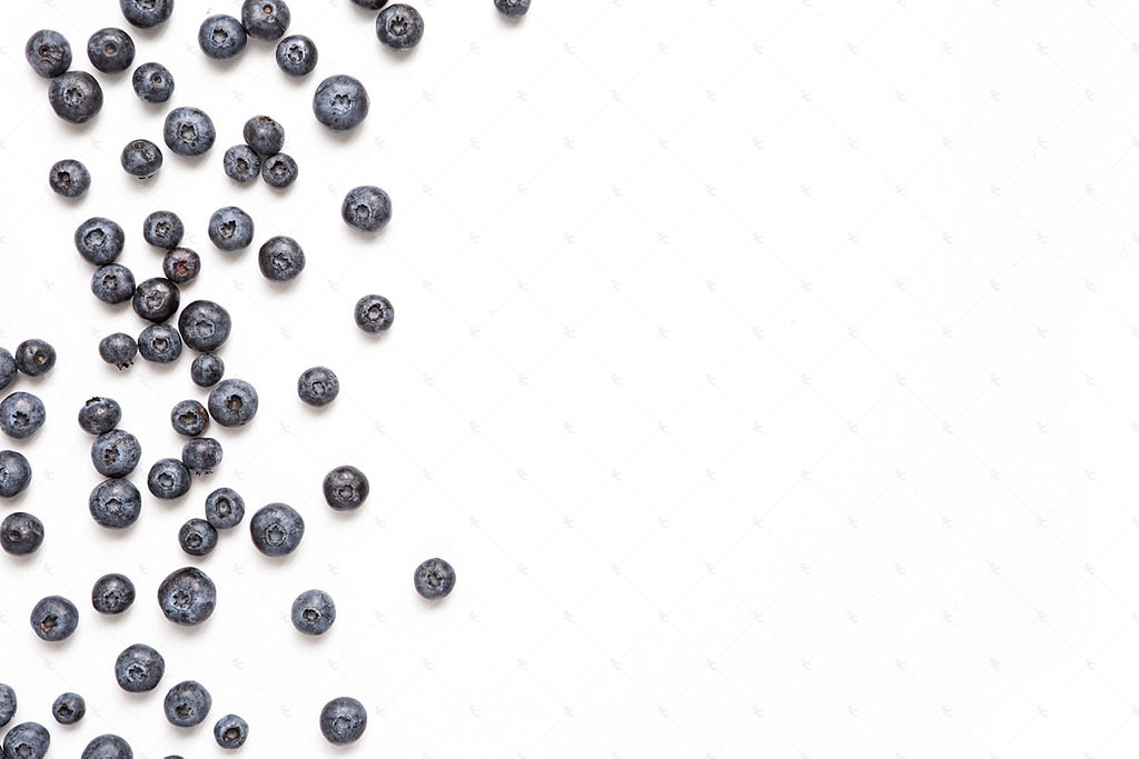 Blueberry fruit styled stock photography from the SC Stockshop