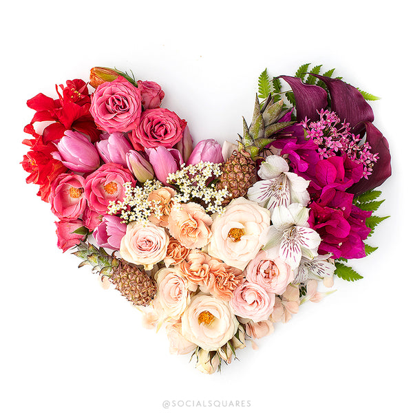 Floral styled hearts_shay cochrane_free styled stock photography