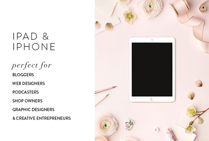 Styled stock images for web designers, bloggers, creative entrepreneurs, podcasters, shop owners