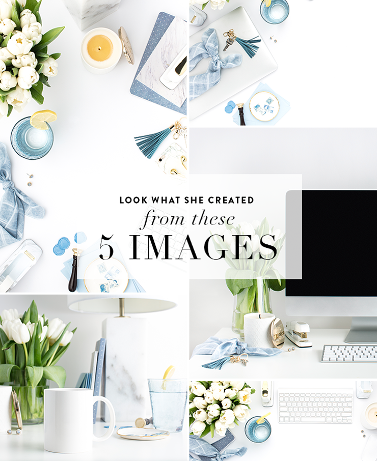 how to use styled stock photography for your business