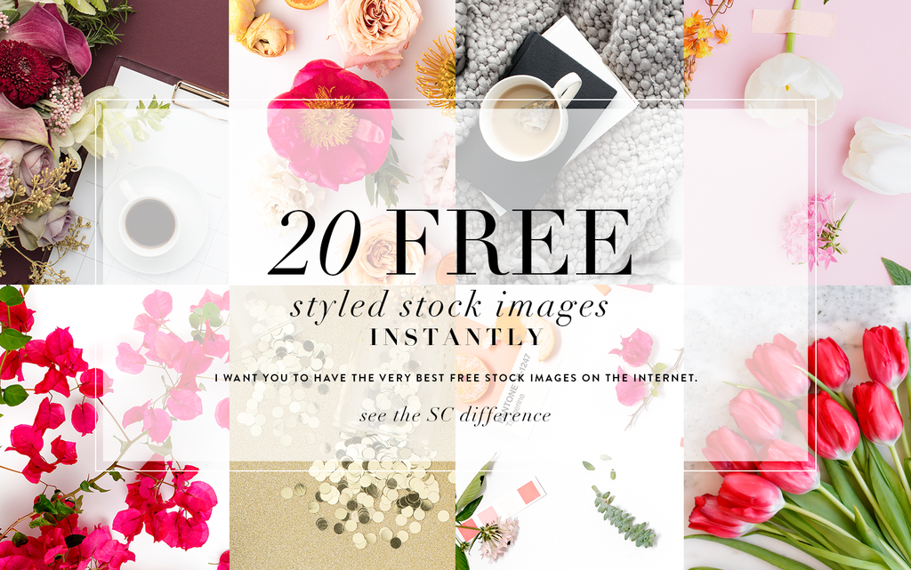 20 free styled stock images