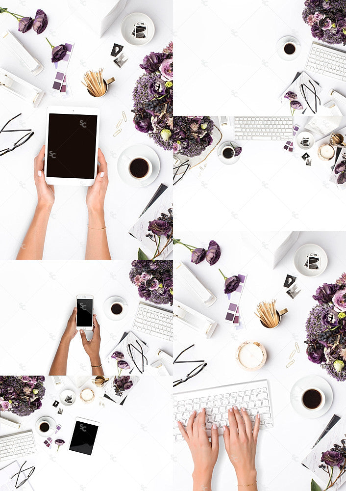 purple brand images and styled stock photography from the SC Stockshop
