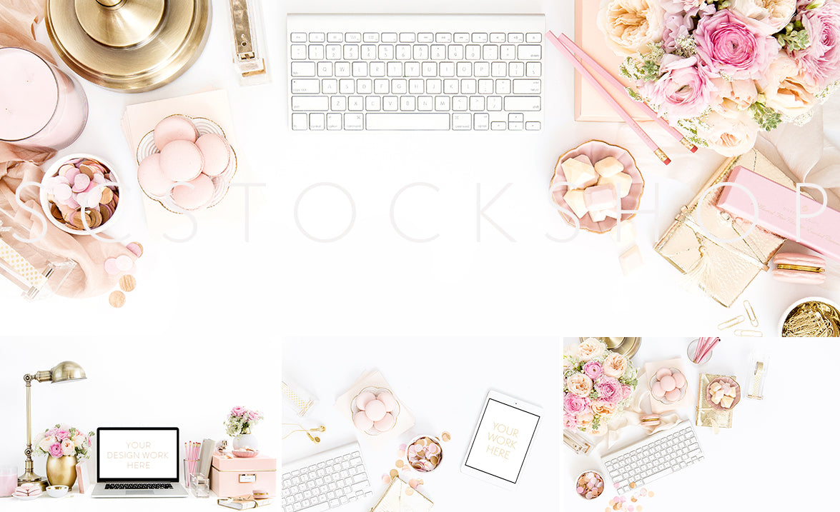 SC Stockshop | Styled Stock Photography for Creatives | Blush | Gold | Shay Cochrane