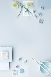 MaeMae x SC Collection: French Blue SET 7 | Notecards