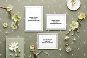 MaeMae x SC Collection: Sage SET 2 | Invitation Suite