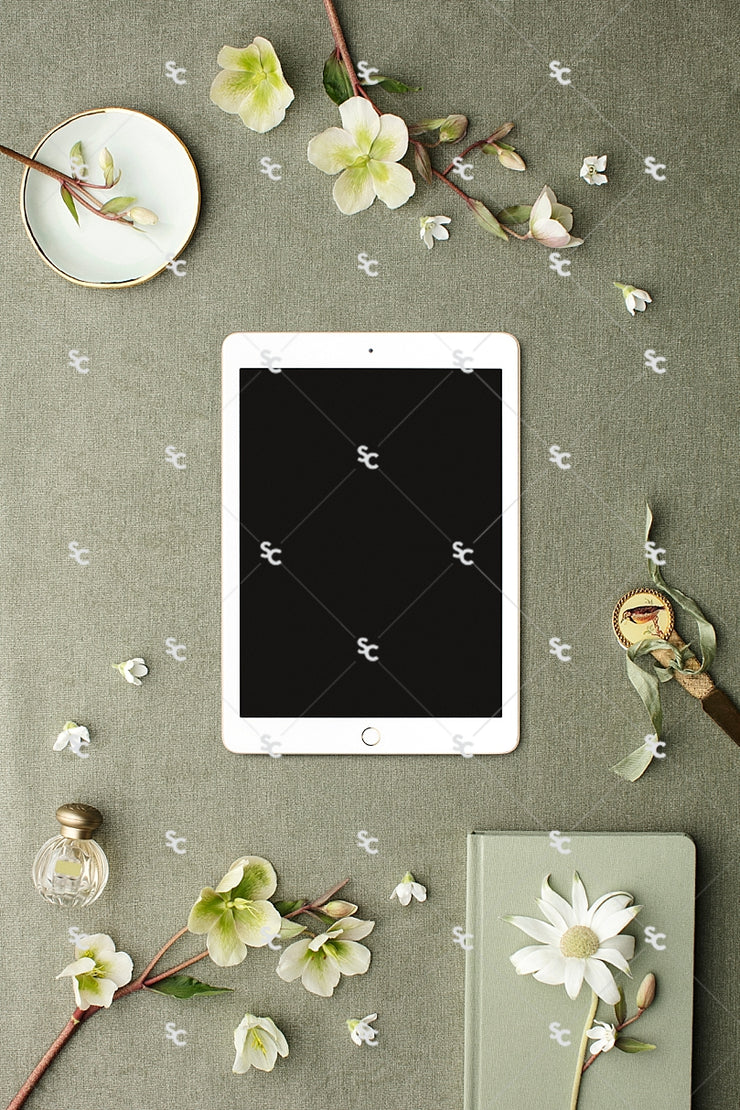 MaeMae x SC Collection: Sage SET 6 | Tablet Screen