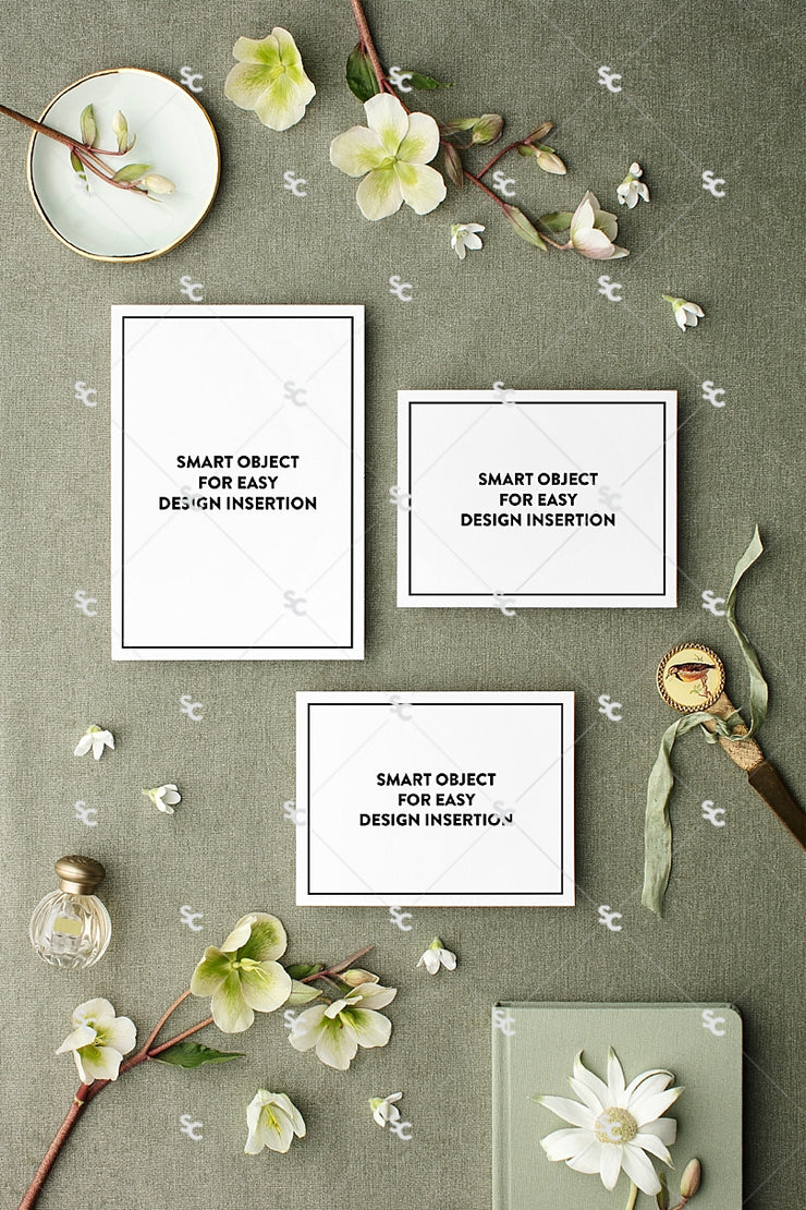 MaeMae x SC Collection: Sage SET 1 | Invitation Suite