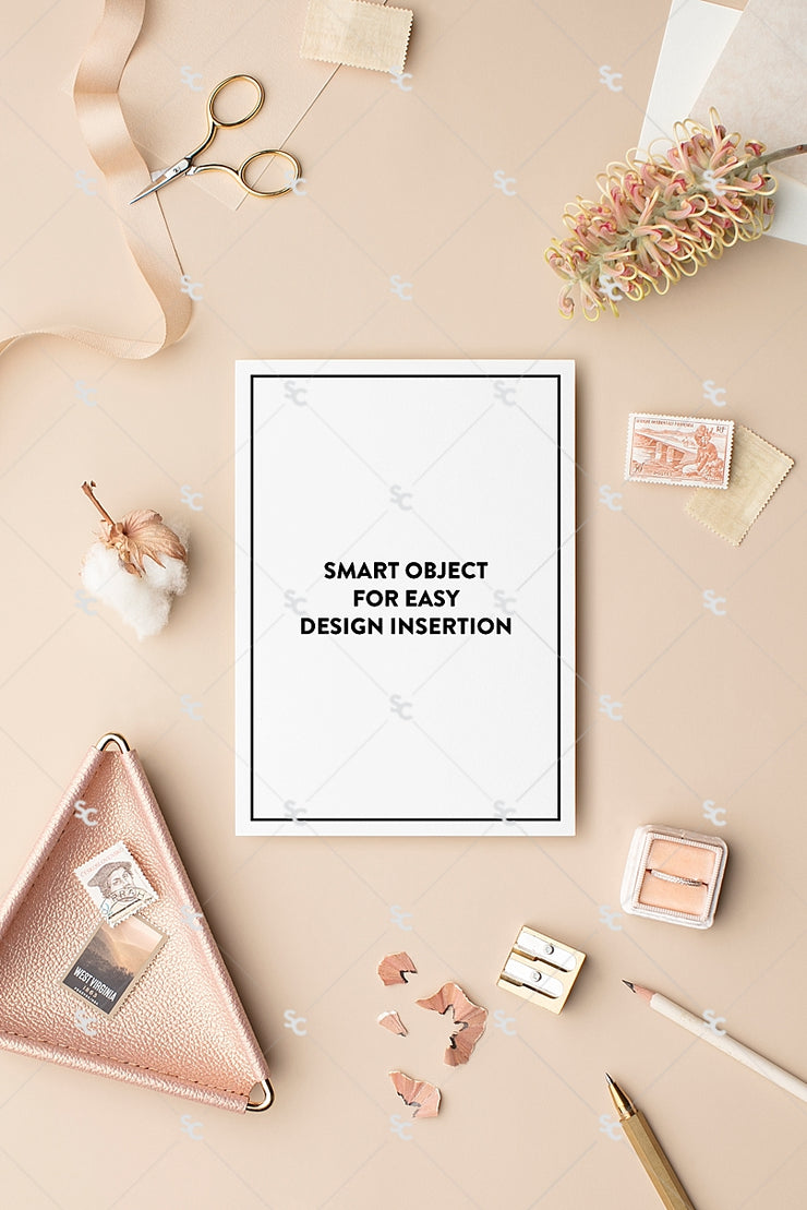 MaeMae x SC Collection: Nude SET 6 | A7 Stationery