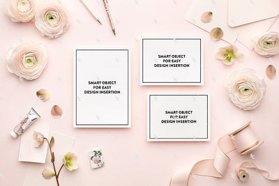 MaeMae x SC Collection: Blush Pink SET 1 | Invitation Suite