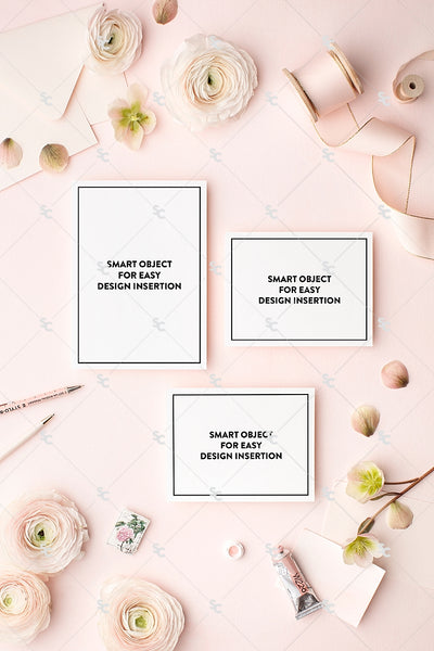 MaeMae x SC Collection: Blush Pink SET 3 | Invitation Suite