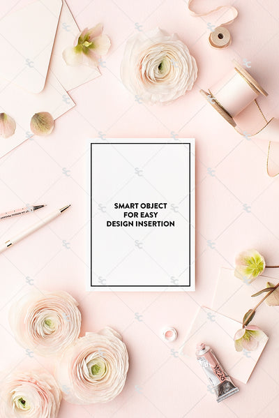 MaeMae x SC Collection: Blush Pink SET 4 | A7 Stationery