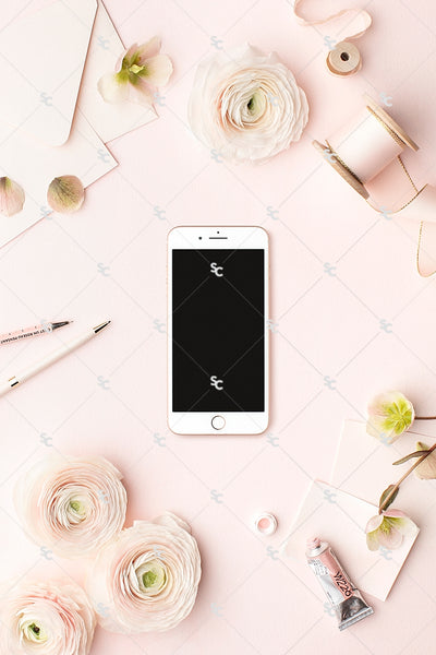 MaeMae x SC Collection: Blush Pink SET 8 | Phone Screen