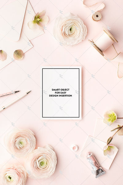 MaeMae x SC Collection: Blush Pink SET 7 | Notecards