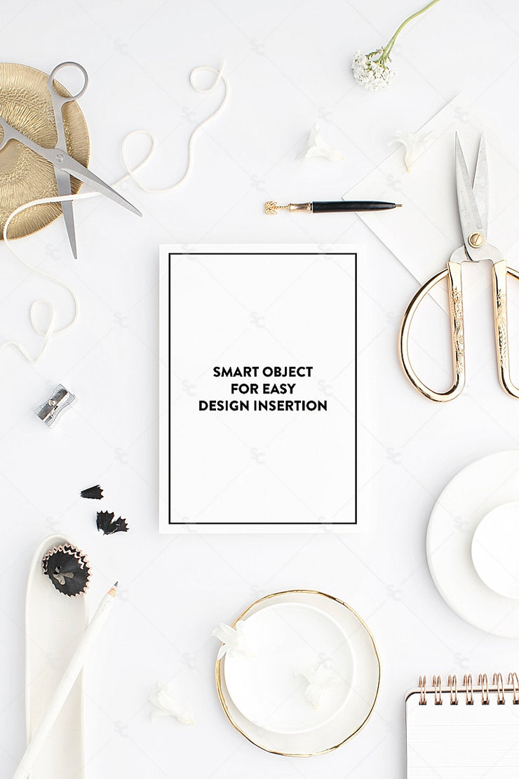 MaeMae x SC Collection: Bright White SET 7 | A7 Stationery
