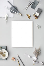 grey 8x10 stationery styled stock