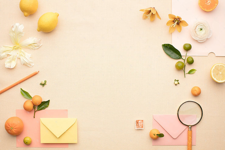 MaeMae x SC Collection: Citrus SET 2 | Invitation Suite