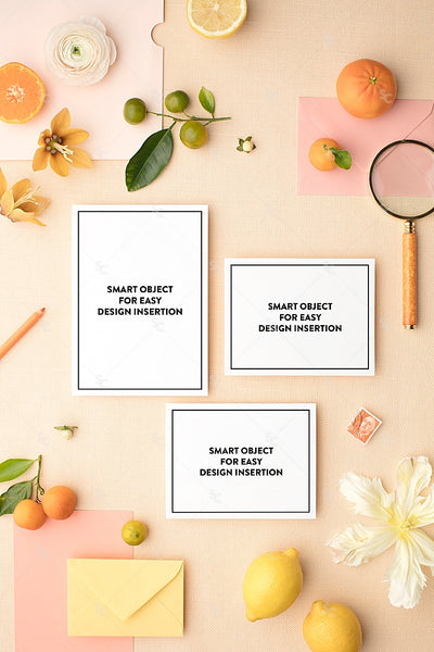 MaeMae x SC Collection: Citrus SET 1 | Invitation Suite