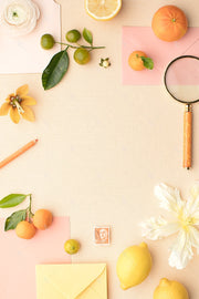 MaeMae x SC Collection: Citrus SET 7 | A7 Stationery