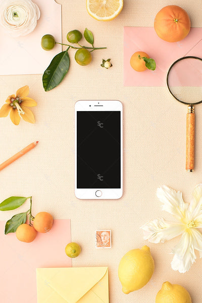 MaeMae x SC Collection: Citrus SET 6 | Phone Screen