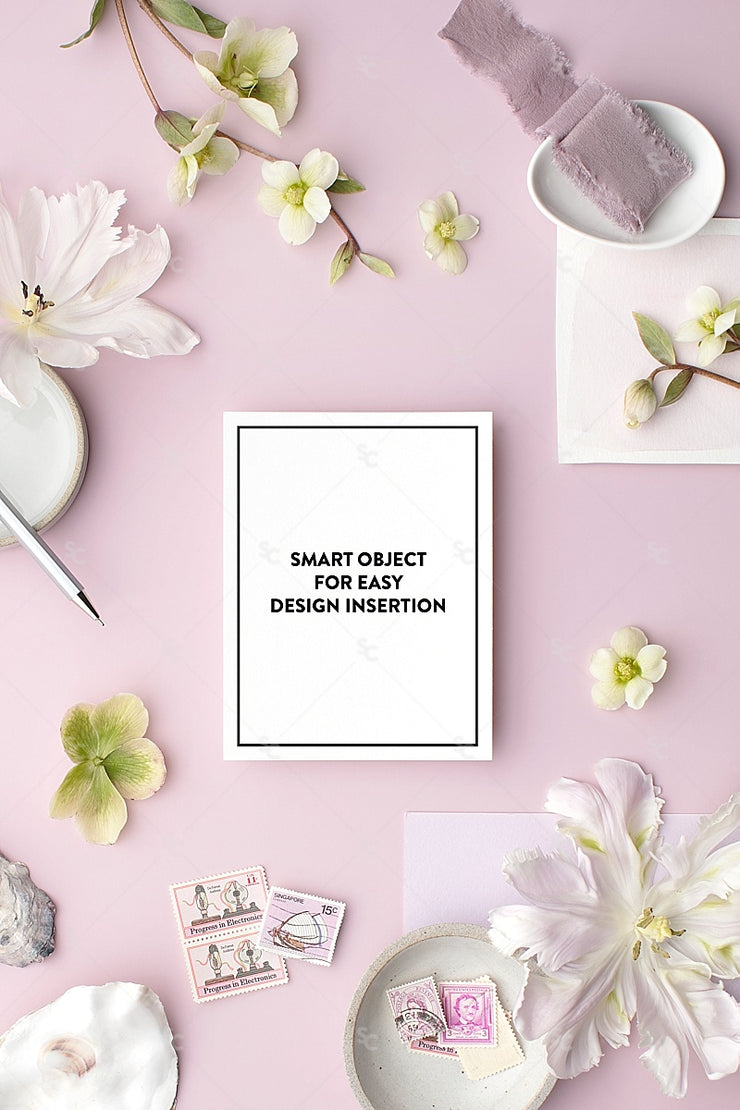 MaeMae x SC Collection: Lavender SET 8 | Notecards